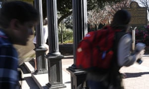 University of Georgia says it 'condemns racism in the strongest terms. Racism has no place in our campus'.