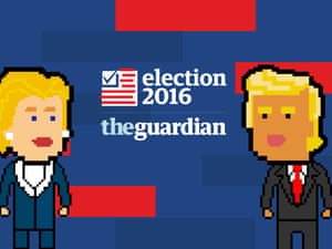 Get Live US Election Alerts In New Innovative Format From The - Us election 2016 map the guardian