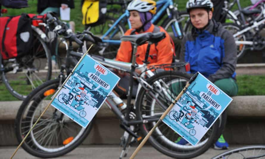 All the party candidates have been invited to attend Saturday's Pedal on Parliament event for safer cycling