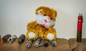 IEDs disguised as children's toys