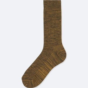 Men colour socks, £2.60, Uniqlo