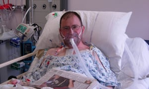 Kieran Sandwell received a heart transplant in 2009, after a year on the list.