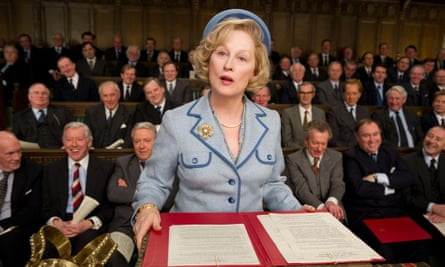 Meryl Streep as Margaret Thatcher in The Iron Lady.