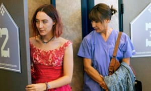 'I didn't expect the mother's role to play such an important role' … Saoirse Ronan and Laurie Metcalf in Lady Bird. 2017.