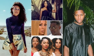 Composite of Corinne Rae bailey, Tweet, Gallant, King, Maxwell and K Michelle