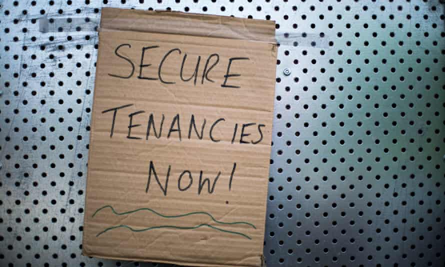 Tenants must be given more security if the government is serious about reducing homelessness, campaigners argue.