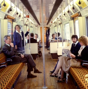 A D78 District line carriage, circa 1980