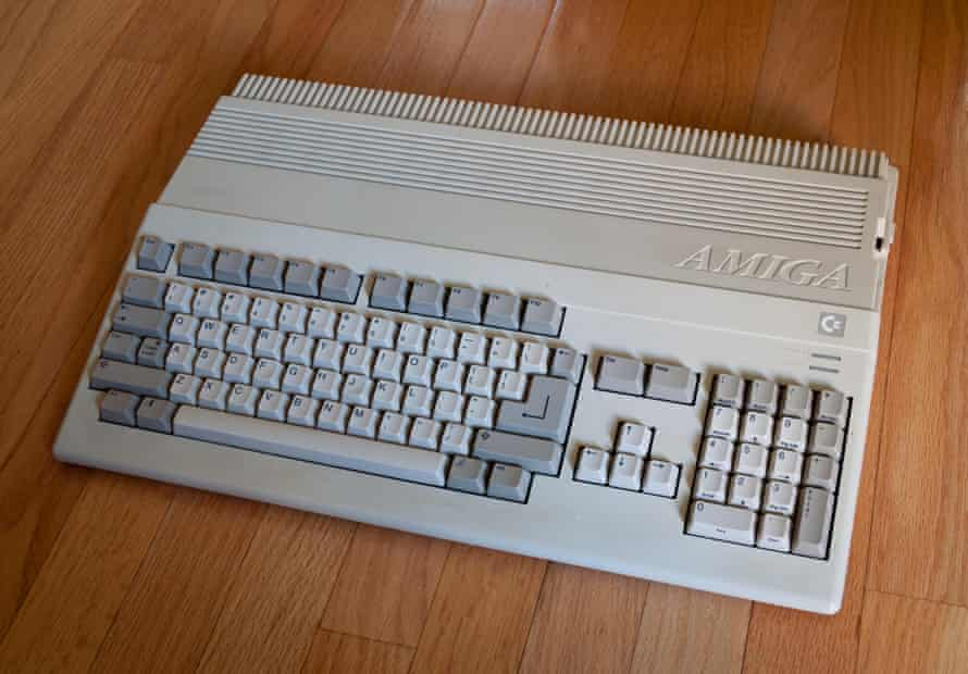 Rich adventures … Commodore Amiga 500.