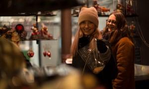 Women of Paris Walking Tours, in a sweet shop
