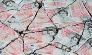 cracked £50 notes