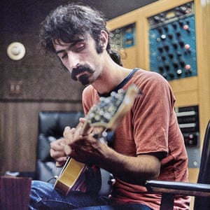 Frank Zappa during the Hot Rats sessions.