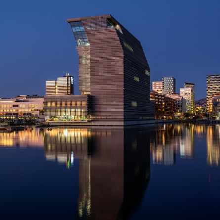 The new Munch Museum, Oslo.