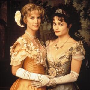 Imogen Stubbs and Helena Bonham-Carter in Twelfth Night.