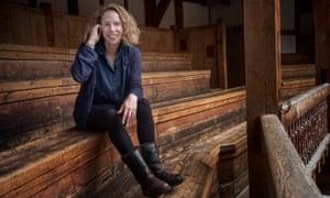 Michelle Terry, artistic director of Shakespeare's Globe theatre.