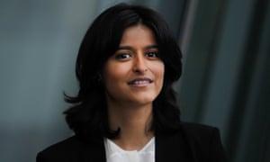 Munira Mirza, the head of the No 10 policy unit