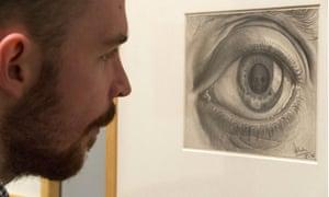 Eye (1946) by MC Escher