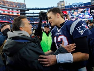 Jeff Fisher congratulates Tom Brady on handing him another defeat.