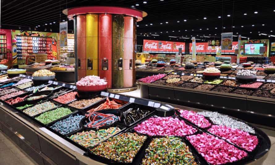 Gottebiten candy superstore in Sweden.