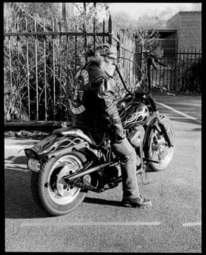 Ol Man 2, New York, 2003 (from series Bikers)