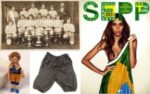 Some of the exhibits that will be on show at the National Football Museum