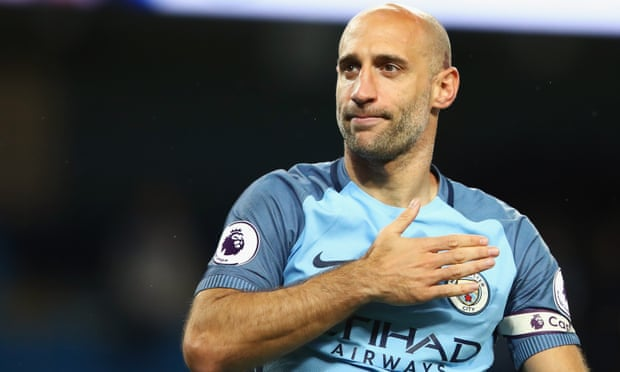 Pablo Zabaleta had an instant and easy affinity with the Manchester City fans who showed their appreciation for a departing legend after his final home match against West Brom.