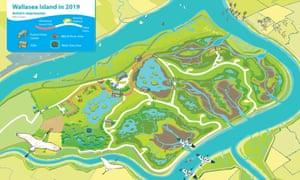 Artist's impression of Wallasea Island