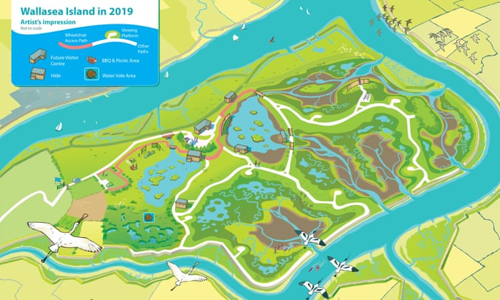 Wallasea Island Map Wallasea Island project takes significant step forward as sea