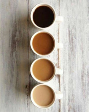 As long as there is coffee on the table , how bad could a day go?!Photograph: