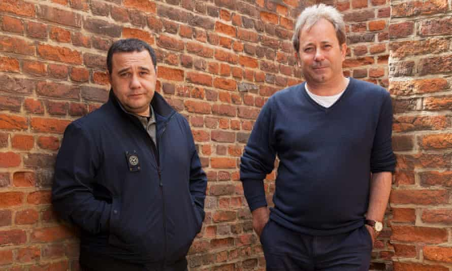 Michael Volpe, left, and James Clutton are frustrated by the claims of elitism aimed at Opera Holland Park.