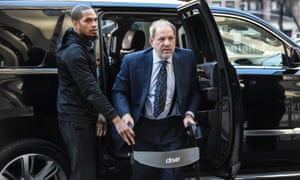 Harvey Weinstein arrives for his New York sexual assault trial in February.
