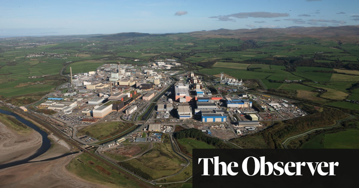 Sellafield, former star of the nuclear age, scrubs up for a different future