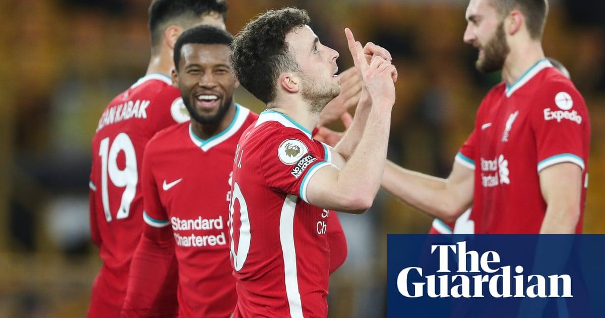 Rui Patrício injury overshadows Diogo Jota's Liverpool winner at Wolves