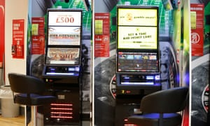 Fixed odds betting machines