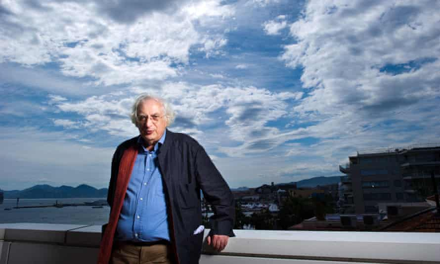 Bertrand Tavernier at the Cannes film festival in France, 2010.