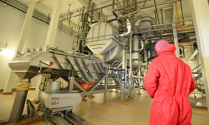 The new proccesing equipment at Lacpatrick at infant milk place in Artigarvan, Strabane, Northern Ireland.