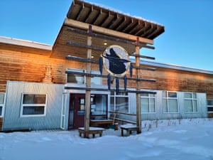 White River First Nation's main office in Beaver Creek.