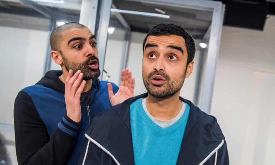 Jonas Khan and Richard Sumitro in I Call My Brothers at Gate theatre, London