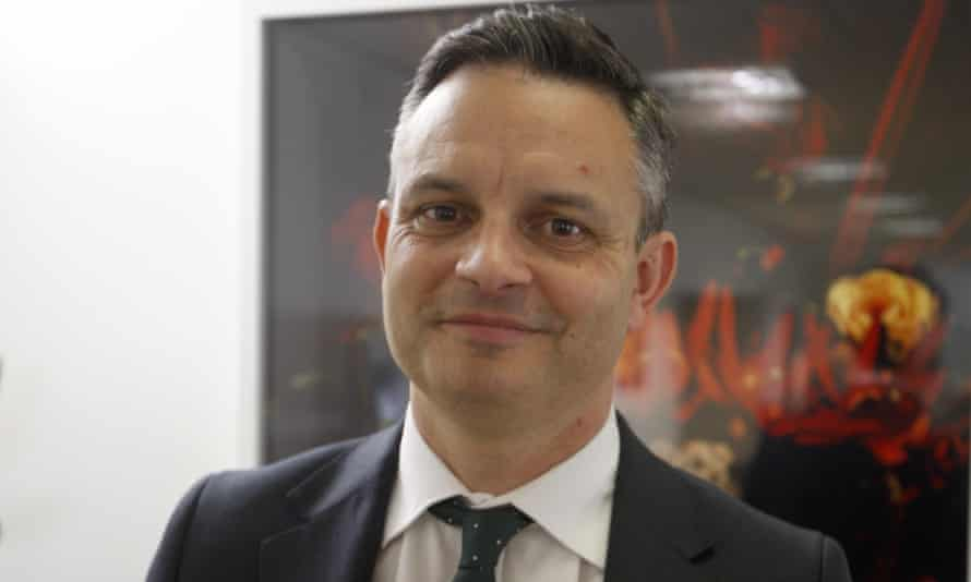New Zealand's climate change minister James Shaw was attacked in Wellington
