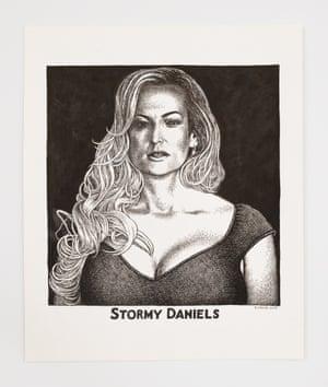 Stormy Daniels by Robert Crumb