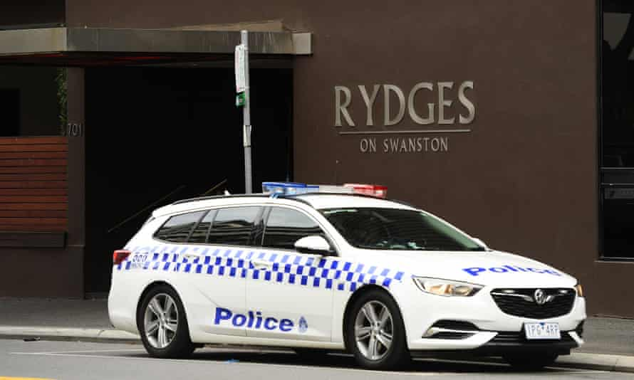 The Rydges hotel on Swanston St