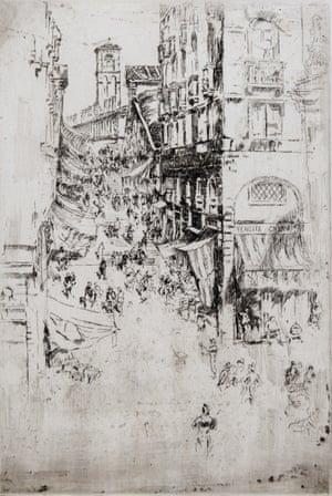 James McNeill Whistler, The Rialto, 1879 -80.