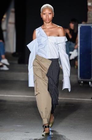 Monse show, runway, Spring Summer 2017, New York Fashion Week