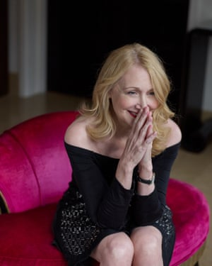 Actor Patricia Clarkson photographed in London
