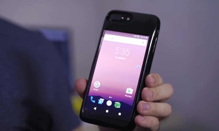 Esti Eye iPhone Android prototype
