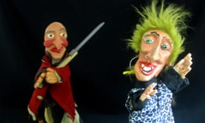 Puppets from La Bruja y Don Cristóbal.