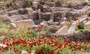 Archaelogical site of Gobekli Tepe, the oldest known human-made religious structure. Sanliurfa, Southeast Turkey<br>D0WT47 Archaelogical site of Gobekli Tepe, the oldest known human-made religious structure. Sanliurfa, Southeast Turkey