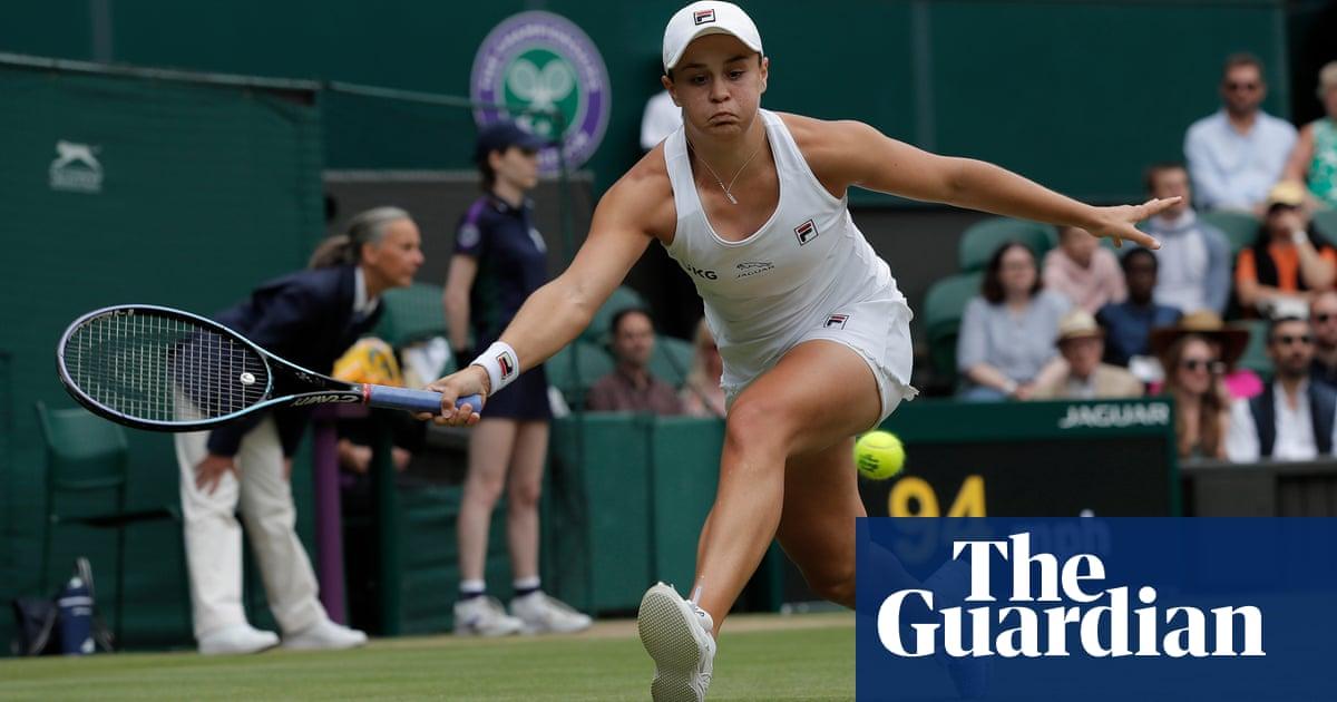 Ashleigh Barty outplays Angelique Kerber to reach first Wimbledon final