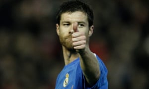 Xabi Alonso won La Liga, the Copa del Rey and the Champions League while at Real Madrid.