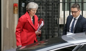 Theresa May leaving No 10