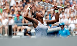 Coco Gauff needed three sets to get past Sorana Cirstea in the Australian Open second round.